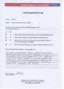 Olbricht, Verkauf 2-FH in Alfeld