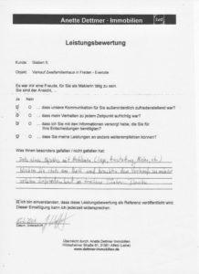Verkauf 2-FH in Freden - Everode